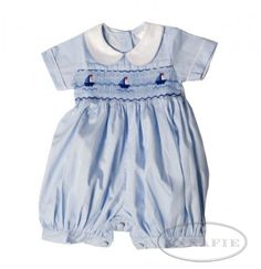 Prince George Wears Annafie Romper With Sail Boat Design available at twinkletwinkleboutique.co.uk