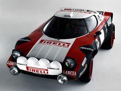 Lancia Stratos, possibly the best looking rally car ever made. Ferrari, Maserati, Lamborghini, Alfa Romeo, Bmw, Lancia Delta Integrale, Dodge, Course Automobile, Rally Car