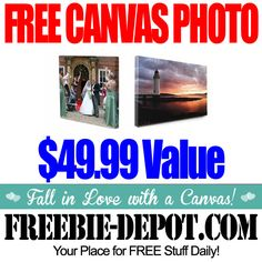 FREE Canvas Photo Print - Exp 1/31/14
