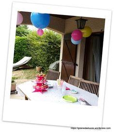 Pour les 1 An je m'étais imaginée une fête conviviale avec notre famille et nos amis. J'avais tout bien en tête : de la belle déco, un gâteau réalisé par mes soins, des cupcakes… …