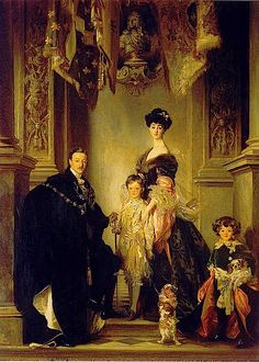 The Marlborough Family by J S Sargent 1905