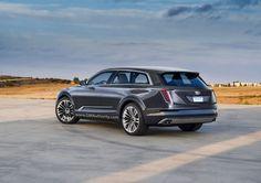 Cadillac Escala SUV crossover rear
