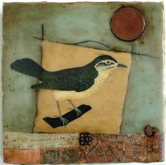 Nava Waxman ...Sweet Encaustic Painting