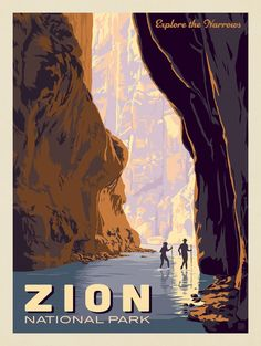 Anderson Design Group Zion National Park: Explore The Narrows The Narrows Zion, Narrows Zion National Park, Carlsbad Caverns National Park, Mount Rainier National Park, Grand Teton National Park, American National Parks, National Parks Map, Capitol Reef National Park, Iron Maiden