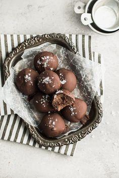 Double Chocolate Paleo Cookie Drops — Peanut Butter Plus Chocolate Best Chocolate Desserts, Double Chocolate Cookies, Chocolate Drip, Valentine Chocolate, Paleo Chocolate, Chocolate Truffles, Chocolate Lovers, Chocolate Brownies, Paleo Cookies