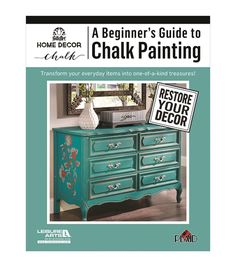 A Beginner's Guide To Chalk Painting Activity Book