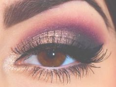 plum eyeshadow makeup
