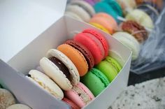 Colorful. Yummy. Macaroons