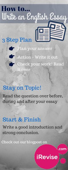 How to write a good English essay in an exam?