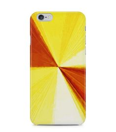 Marvelous Yellow and Brown Abstract Picture 3D Iphone Case for Iphone 3G/4/4g/4s/5/5s/6/6s/6s Plus - ARTXTR0043 - FavCases