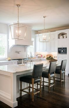 An addition to existing space resulted in a Kitchen and Family Room that are now truly the heart of this home.
