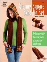 Granny Square Skoodie Set