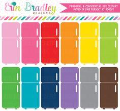 Fridge Clipart Graphics – Erin Bradley/Ink Obsession Designs