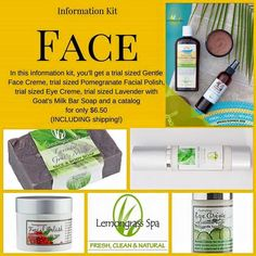 Try Lemongrass Spa products for only $6.50 including shipping!! www.ourlemongrassspa.com/7690 or message me directly! I'm Christina, a LGS distributor and natural products lover!