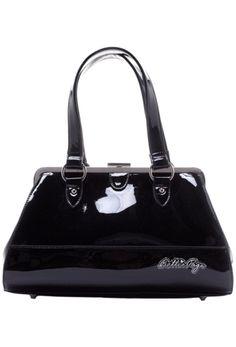 Sourpuss Bettie Page Centerfold Bag - Black