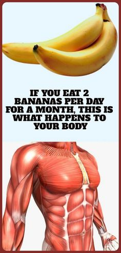 If You Eat 2 Bananas Per Day For A Month, This Is What Happens To Your Body Wellness Fitness, Health And Wellness, Health Tips, Health Fitness, Women's Health, Health Care, Fitness Tips, Avocado Health Benefits, Banana Benefits