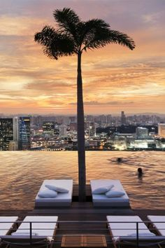 Infinity Pool, at Marina Bay Sands, Singapore