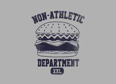 """Non-Athletic Department"" - Threadless.com - Best t-shirts in the world"