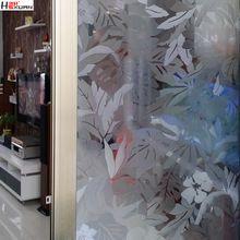 Livraison gratuite 3d verre transparent film de fenêtre autocollants en trois dimensions colle électrostatique porte coulissante applique 0821(China (Mainland))