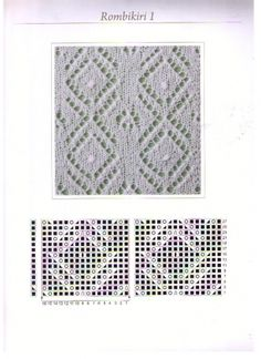 Хаапсалуские узоры. Схемы. / Вязание спицами / Вязание для женщин спицами. Схемы вязания спицами
