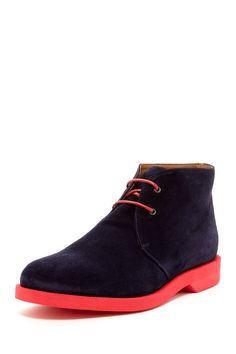 Thomas Dean Contrast Sole Suede Chukka Boot by Thomas Dean on @nordstrom_rack