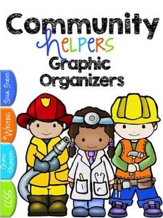 FREE Community Workers Graphic Organizers