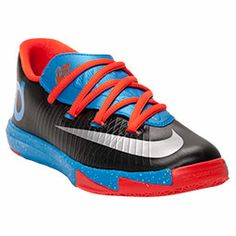 e84158dcbb65 Boys  Preschool Nike Air KD V Basketball Shoes