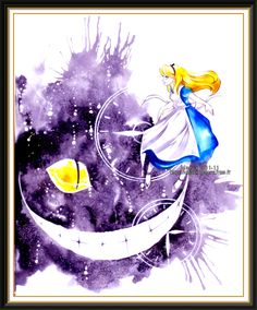 A lovely alice in wonderland print