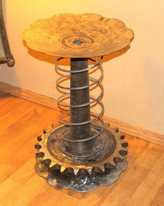 42 Simply Brilliant Ideas on How to Recycle Old Car Parts Into Furnishings