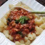 Pasta with Tomato Cream Sauce Recipe - Creamy Tomato Pasta Recipe - Yummy Tummy Tomato Cream Sauce Pasta, Tomato Pasta Recipe, Creamy Tomato Pasta, Pasta Recipes, Gourmet Recipes, Healthy Recipes, Cream Sauce Recipes, Chutney Recipes, Homemade Curry Powder