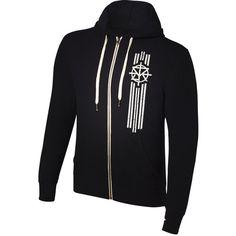 "Seth Rollins ""Redesign, Rebuild, Reclaim"" Lightweight Hoodie... ❤ liked on Polyvore featuring tops, hoodies, zipper hoodies, lightweight hoodie, heavy hoodies, unisex hoodies and sweatshirt hoodies"