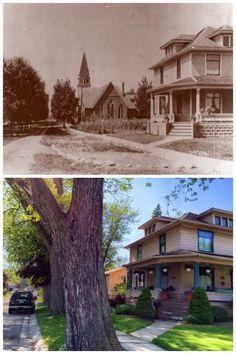 Vintage Point: 23801 Farmington Road, northwest corner of Oakland and Farmington. ca. 1920