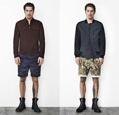 ed8f99edf0a6 (3a) Sayo Shorts Camouflage Leopard Print - (3b) Sugato Camouflage  Patchwork Shorts