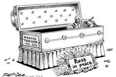 Zapiro: Rust in peace, Margaret Thatcher - The Mail & Guardian