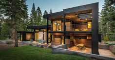 This New California House Makes Itself At Home In The Forest