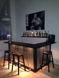 DIY Palette Bar For under $200 Completed!