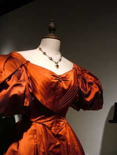 Red dress from Onegin movie.