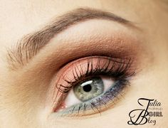 Soft wearable pastels look that's great for spring! This look by Julia-B uses Makeup Geek's Burlesque, Cinderella, Latte, Mango Tango, Nautica, Vanilla Bean and Shimma Shimma eyeshadows.