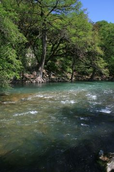The Guadalupe River ... wish I was there now !