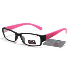 Clear Fashion Glasses Black Pink black pink frames clear