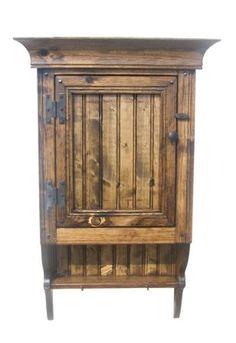 Single Medicine Cabinet-Country Rustic Primitive Furniture
