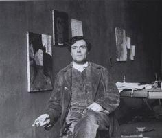 Ο ζωγράφος Αμεντέο Μοντιλιάνι φωτογραφημένος το 1915, πέντε χρόνια πριν από τον πρόωρο θάνατό του σε ηλικία 35 ετών