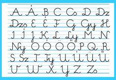 Bergamott: Írott és nyomtatott ábécé
