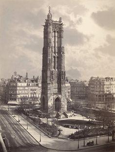Charles Soulier : la Tour Saint-Jacques
