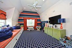 Bonus Room https://www.facebook.com/media/set/?set=a.10151416183366403.1073741838.71257806402=1 #bonusroom #realestate #homes #playroom #colorful