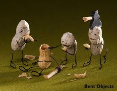 Wires transform these objects from inanimate to hilarious works of art.