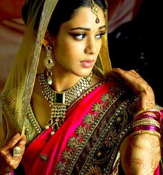 Elegant bridal saree