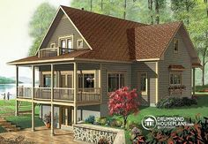 House plan W3918 detail from DrummondHousePlans.com