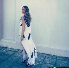 ...και η Αντωνια Καλλιμουκου επιλέγει Zoya black and white dress