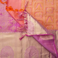Ghanshyam Sarode Handwoven Kanchi Silk Sari 1014106 - Sari / All Saris - Parisera